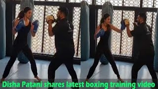 Disha Patani shares latest boxing training video, calls it 'don't mess with me' thumbnail