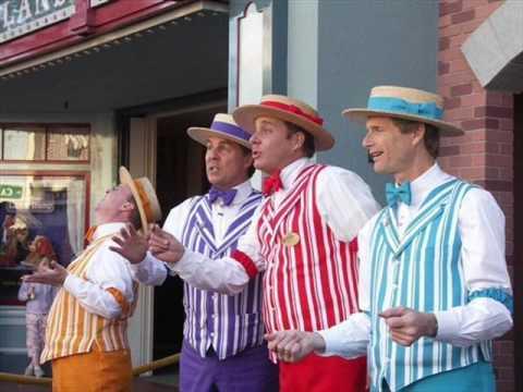 Hello My Baby-Barbershop Quartet - YouTube