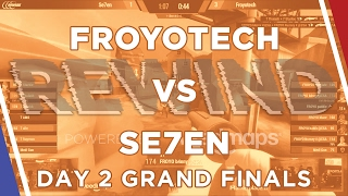 Froyotech and Se7en faced off in the grand finals for the Rewind to...