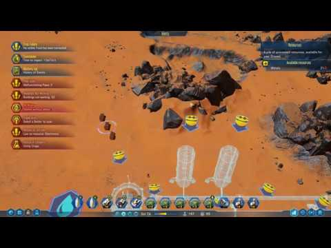 Surviving Mars Part 4 - Arrival of the Dredgers (Easy Start)