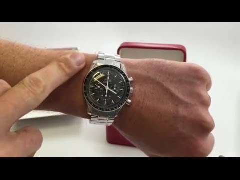 Omega Speedmaster Professional Review -- Man on the Moon Watch
