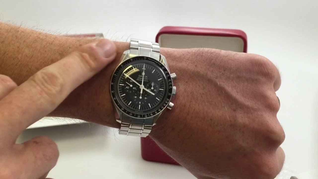 Omega Speedmaster Professional Review Man On The Moon Watch Youtube