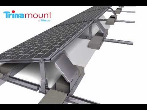 Trina Solar Trinamount III - For Flat Roof   Renvu.com