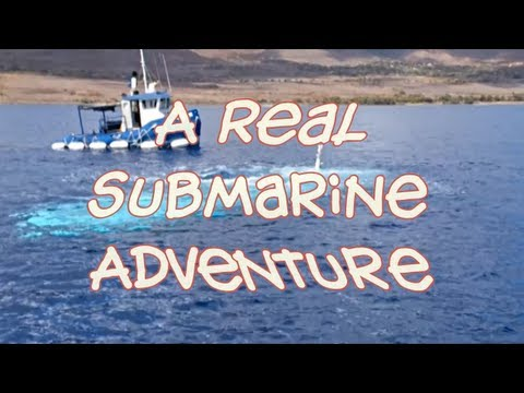 Take a Ride on a Submarine in Maui Hawaii!