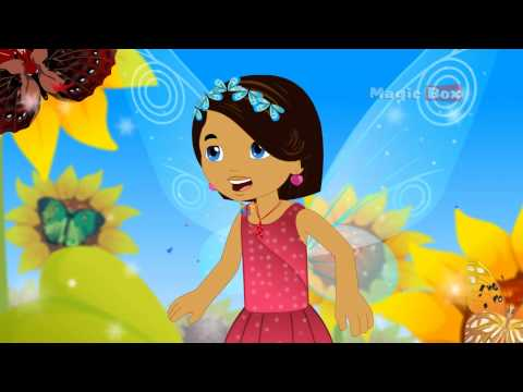 Butterfly - Kingini Chellam - Pre School - Animated/Cartoon Rhymes For Kids