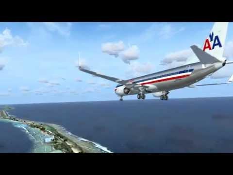 FSX   737 NGX  at  Marshall Islands PKMJ