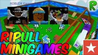 ROBLOX Games Episode 2 - Part 1 - Ripull Minigames