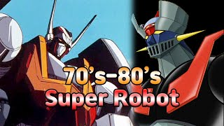 70's~80's Super Robot Anime Collection 1972 - マジンガーZ / Mazinger Z (Tranzor Z) 1974 - ゲッターロボ / Getter Robo 1974 - グレートマジンガー / Great Mazinger ...