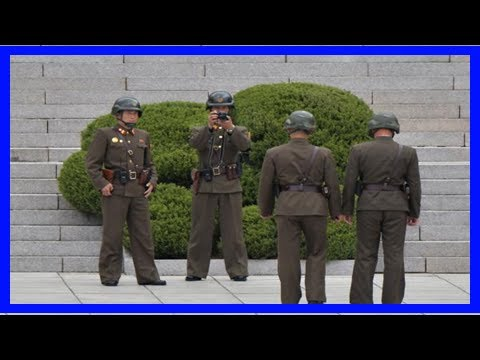 Report: north korea border guards do not carry bullets - TV ANNI