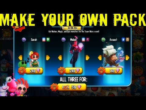 Monster Legends   Make Your Own Pack   Nature/Magic/Epic