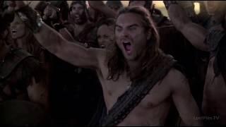 Мятежники захватывают долину с виллами.Спартак:Война проклятых.