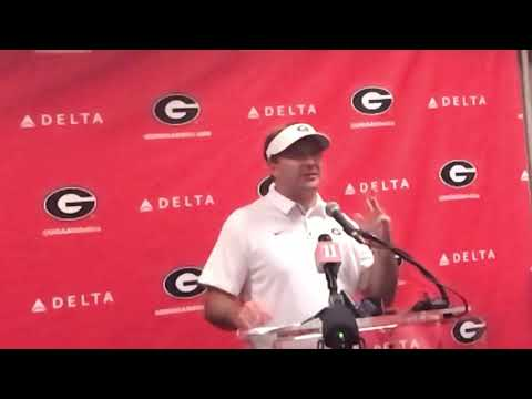 Georgia coach Kirby Smart, @MikeGriffith32 video