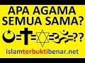 ! Samakah Semua Agama??? - Hj.Irena Handono