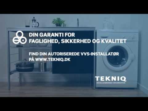 TEKNIQs reklamefilm -  vaskemaskinen