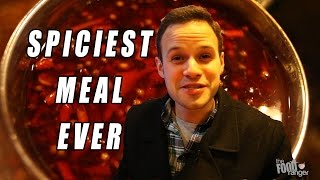 "Eating The Spiciest Meal Ever at ""Painful Heat"" 