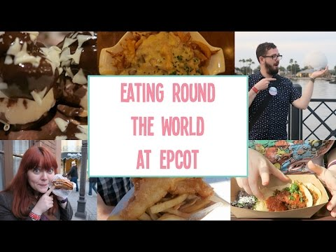 Eating round the world at Epcot