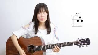 Five Hundred Miles - Nancy's Guitar Tutorial 吉他弹唱教学 吉他教程