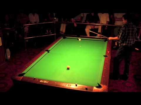 Highlights of Efren Reyes and Charlie Williams exhibition at Amsterdam Billiards