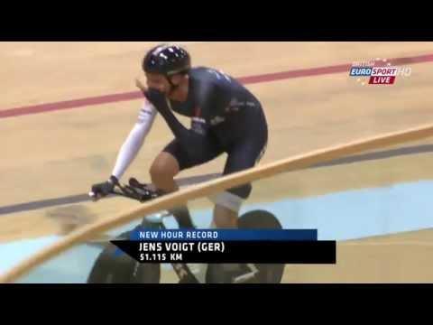 Last laps Jens Voigt Hour Record *** Congratulations Jensie ***