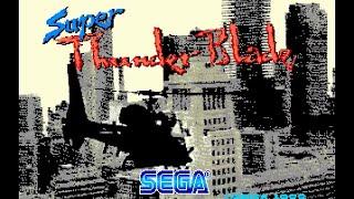 Mega Drive Longplay [213] Super Thunder Blade