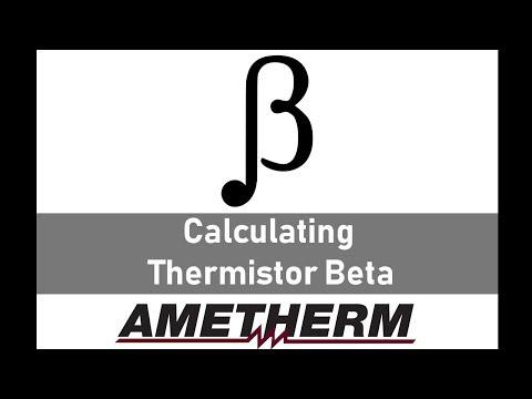 NTC Thermistors - Calculate Beta Values | Ametherm