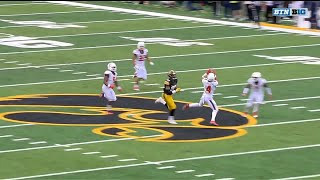 Bennett Williams Picks Off the Iowa Pass