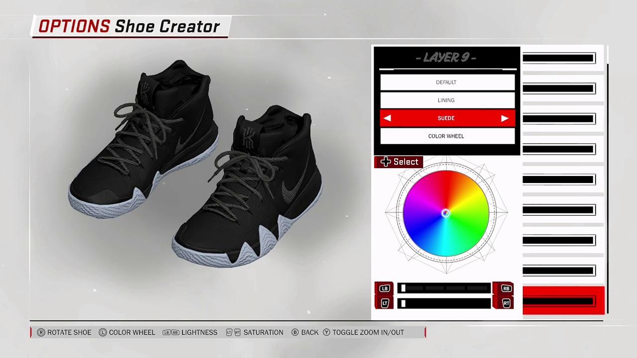 NBA 2K18 Shoe Creator - Nike Kyrie 4 Custom