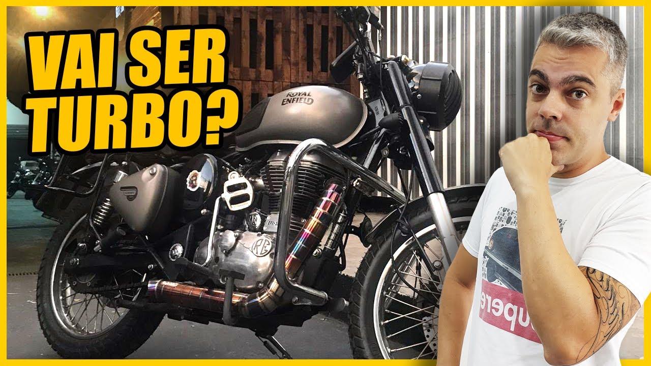 👿PREPARAÇÃO para Chegada do Turbo na ROYAL ENFIELD 500!? 😱
