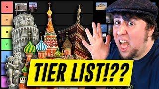 Architecture Tier List - JonTron (rus vo)