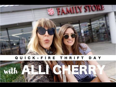 QUICK-FIRE THRIFT DAY WITH ALLI CHERRY