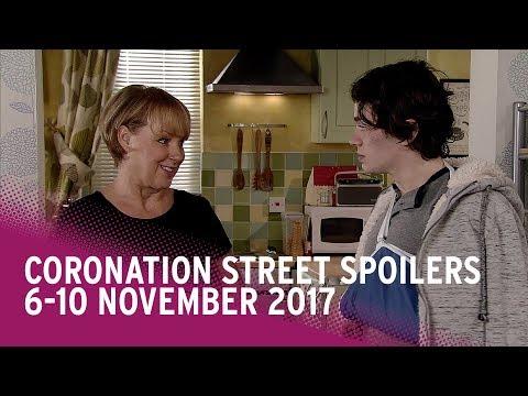 Coronation Street spoilers: 6-10 November 2017 - Corrie