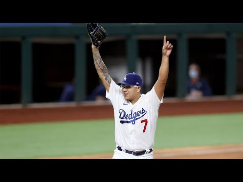 Los Angeles Dodgers Unsung Hero: Pitcher Julio Urias This Is His Tip Of The Hat By Joseph Armendariz