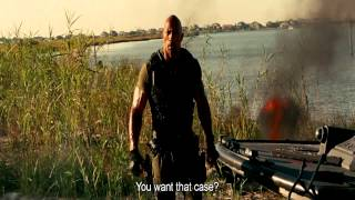 G.I.Joe Retaliation - Roadblock vs Firefly End Fight Scene HD