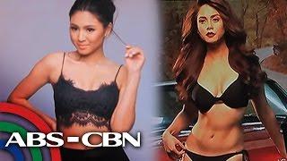 TV Patrol: Jessy at Nadine, gitgitan ang labanan sa 'sexiest Pinay'