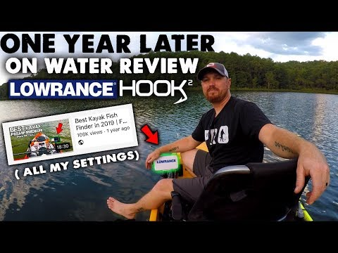ONE YEAR LATER | Lowrance Kayak Fish Finder | Full Setup And Review