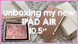 Unboxing Ipad Air 10.5 inch + 🍎 Apple pencil + Case 2020 New