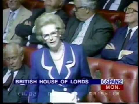 Roy Jenkins Vs Margaret Thatcher