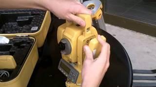 До Topcon GTS-213 відео інструкція 1