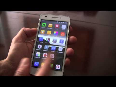 Análisis del Huawei G620s en español