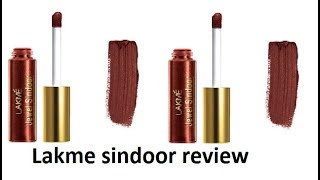 Lakme Jewel sindoor Review || health and beauty tips with Mahi