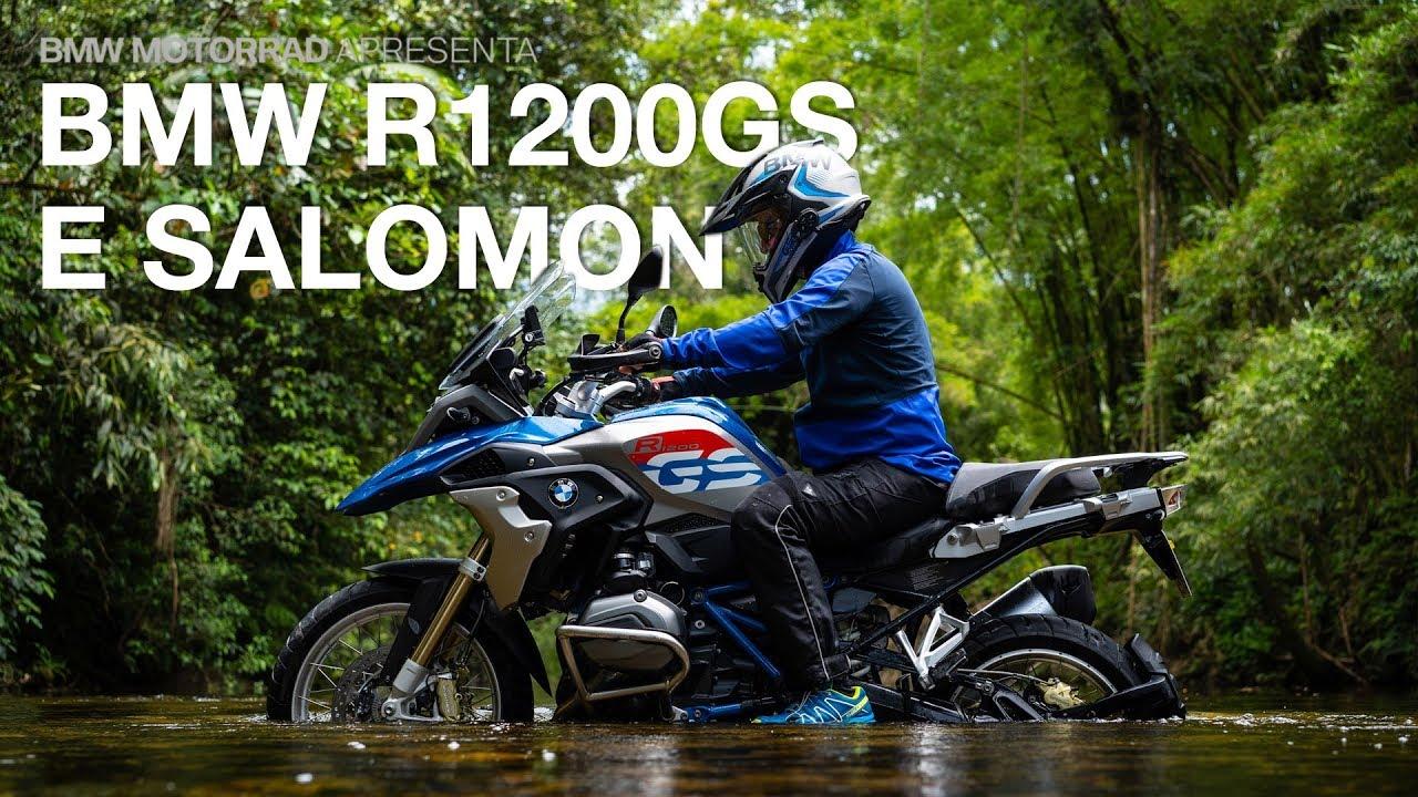 BMW R 1200 GS e Salomon 2