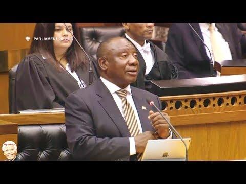 "Ramaphosa Responds To Julius Malema ""Occupy Land"" & ""First Lady"""