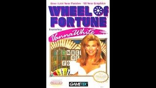 NES Wheel of Fortune Featuring Vanna White ORIGINAL RUN Game #7