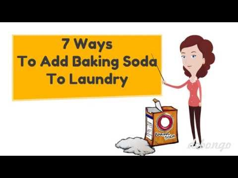 7 Ways to add Baking Soda in Your Laundry