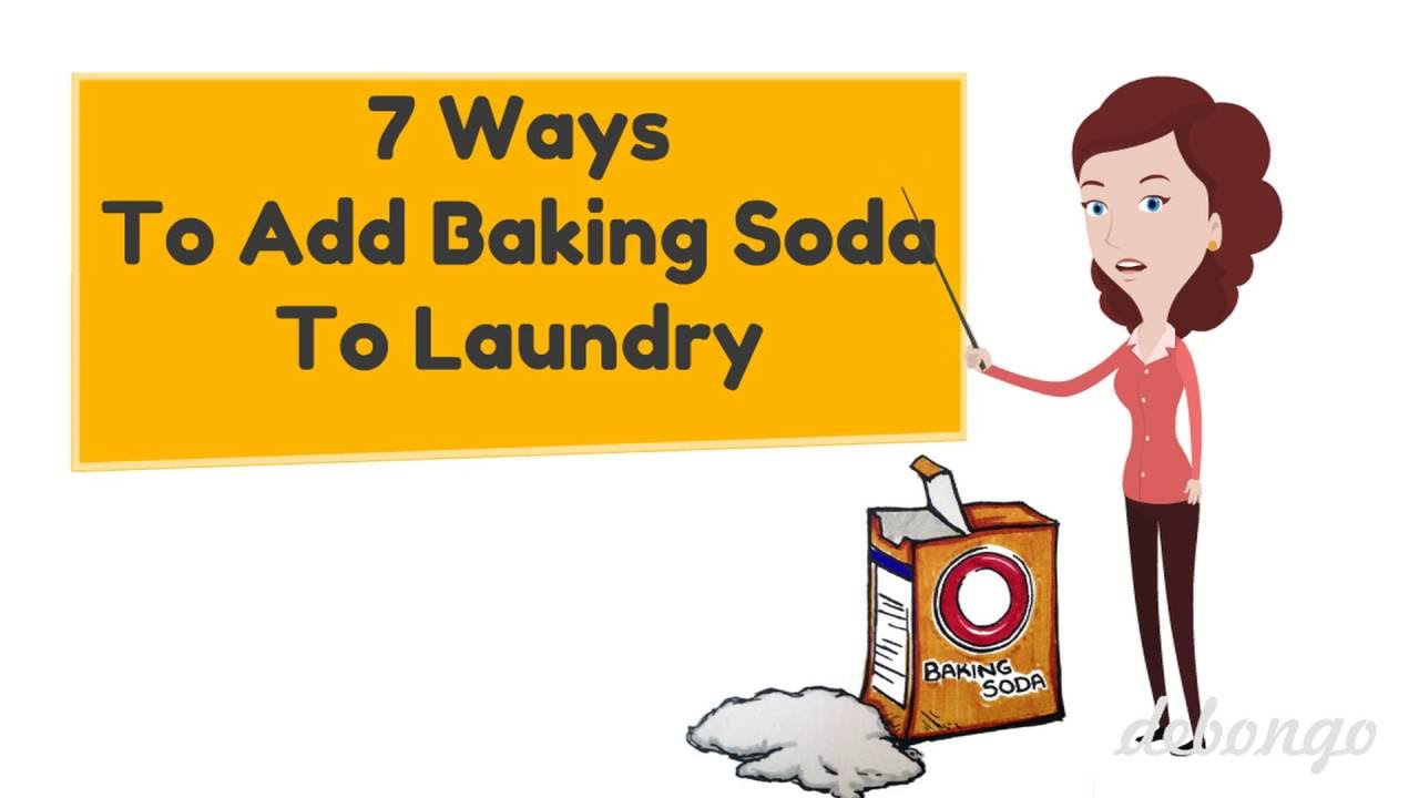 7 Ways To Add Baking Soda In Your Laundry Youtube