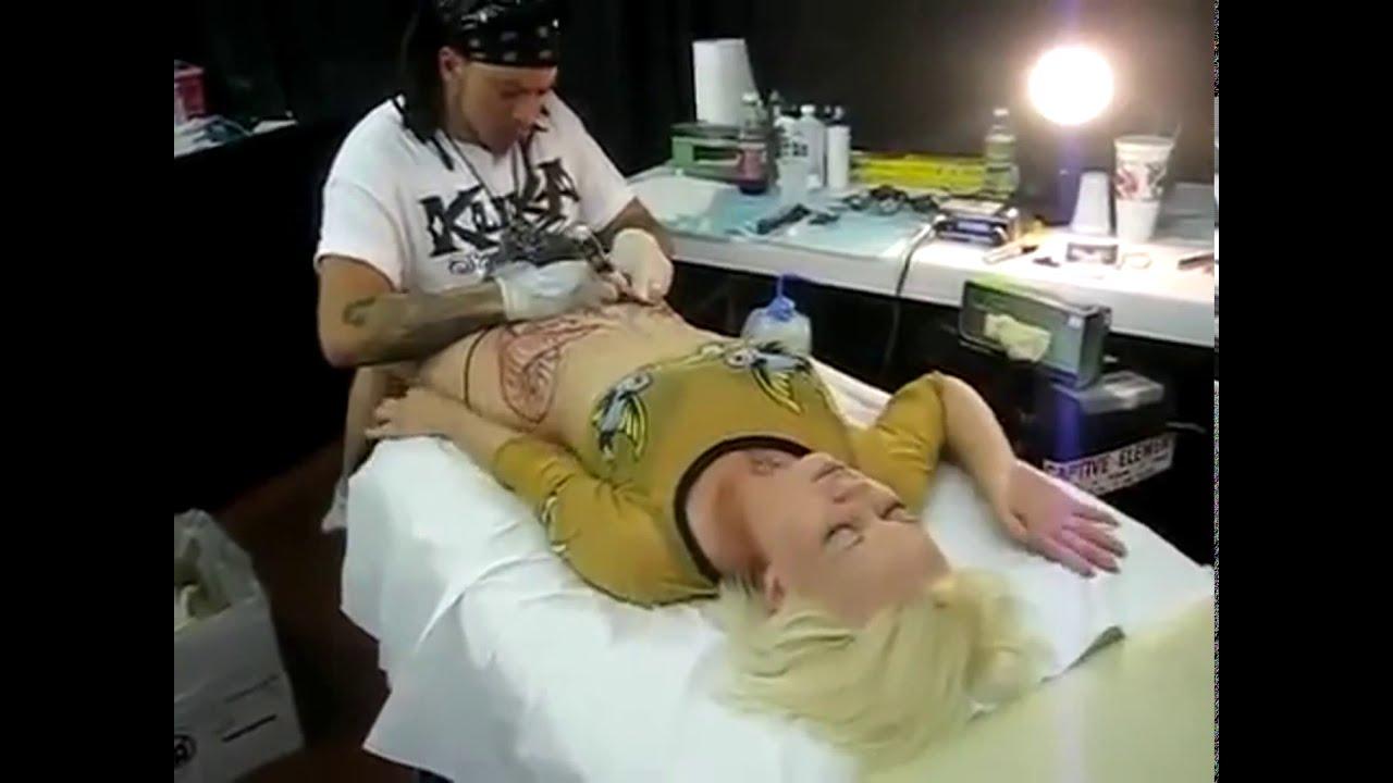 Near private parts tattoos Vagina Tattoos