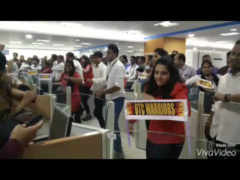 Maersk GSC Pune Office Flash Mob 2015