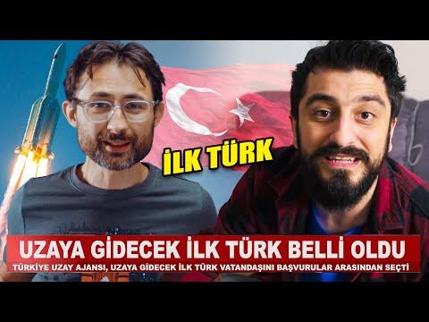 UZAYA GİDECEK İLK TÜRK BELLİ OLDU w/@Barış Özcan