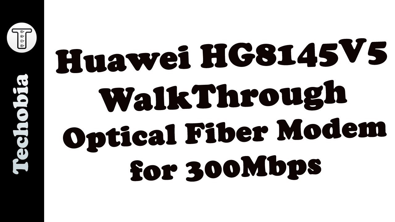 HG8145V5 Huawei Airtel Optical Fiber 300 Mbps Modem / Router Walkthrough  All Options