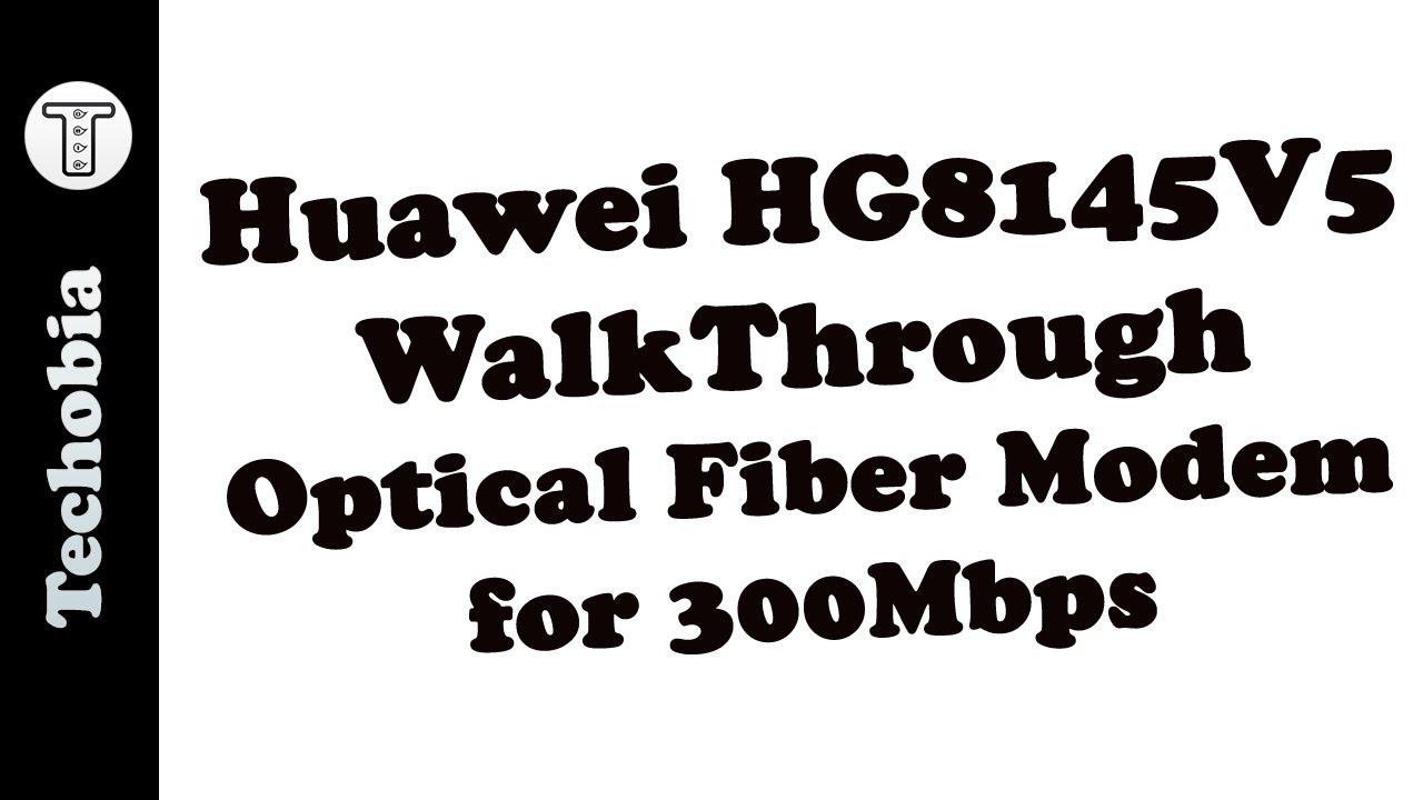 HG8145V5 Huawei Airtel Optical Fiber 300 Mbps Modem